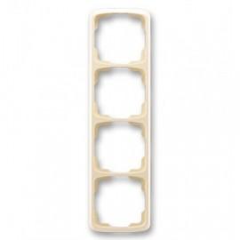 Rámeček ABB TANGO 3901A-B41 C čtyřnásobný svislý slonová kost