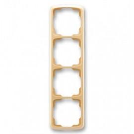 Rámeček ABB TANGO 3901A-B41 D čtyřnásobný svislý béžový