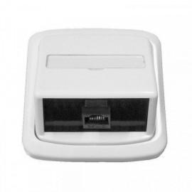 Datová zásuvka Tango pro internet 1x RJ45 bílá