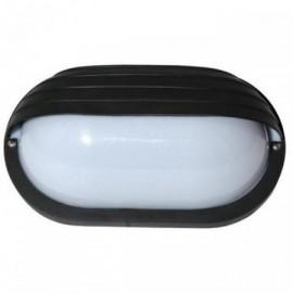Venkovní svítidlo nástěnné OVAL Neptun WH2606-CR černá