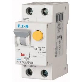 Kombinace jistič-proudový chránič Eaton PFL7-16/1N/B/003
