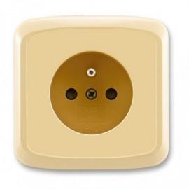 TANGO zásuvka 5519A-A02357 D kompletní béžová