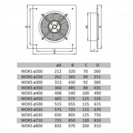 Venkovní svítidlo Greenlux TOR 2-60P IP44 60W