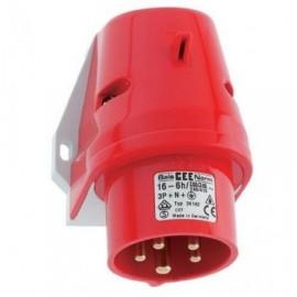 Nástěnná vidlice 400V 16A 5P Bals 242001