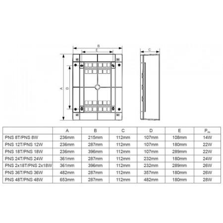 Elektrický ohřívač vzduchu do potrubí - Ø150 mm / 2,4 kW