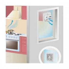 Okenní ventilátor Vents s automatickou žaluzií VV 180