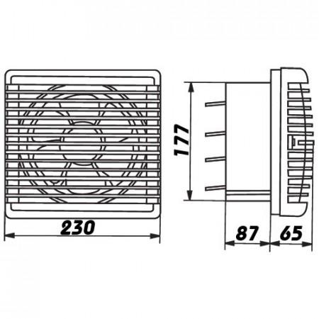 Zářivkové svítidlo PILO 2 bílé 2x36W EVG