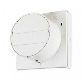 Okenní ventilátor Vents s automatickou žaluzií a zpětným chodem VVR 180