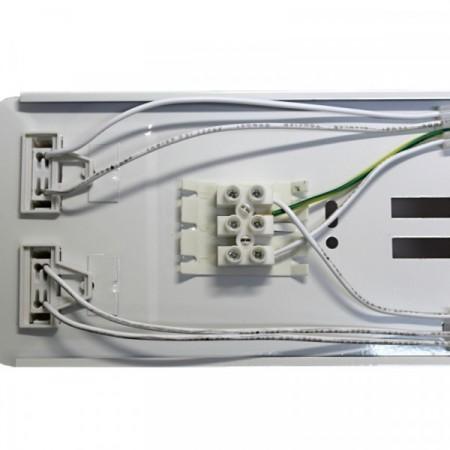 Stolní lupa s LED osvětlením, zvětšení 3 dioptrie bílá