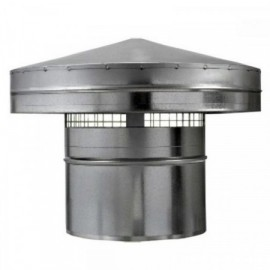 Protidešťová stříška kovová Ø 200mm