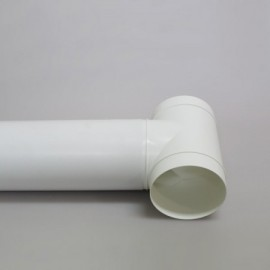 Vzduchotechnické potrubí kruhové plastové Ø125mm/1m