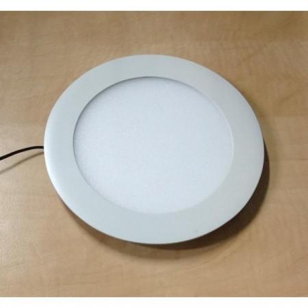 PVC mřížka s přírubou a mechanicky ovládanou žaluzií - Ø 150 mm, bílá
