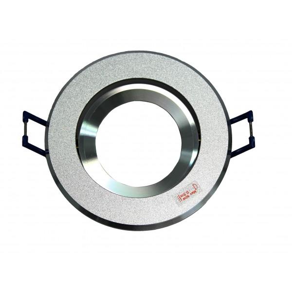 Bodovka do sádrokartonu DTO50-AL kulatá - hliníková výklopná