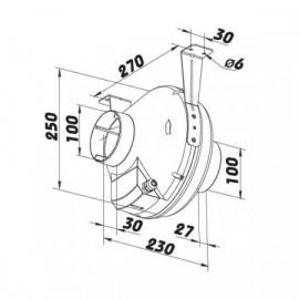 Lisovací dutinka s izolací pro průměr 2,5 mm