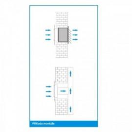 Bodovka do koupelny ROLF IP54-CM, matný chrom