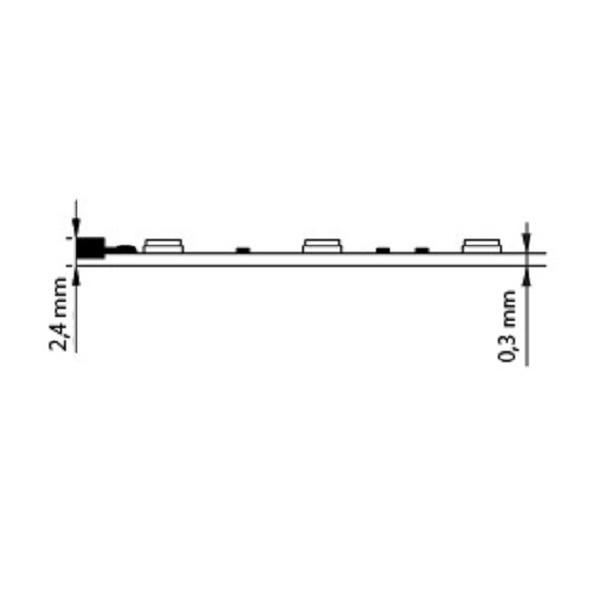 Spojka pro LED pásky bez pájení, 8 mm