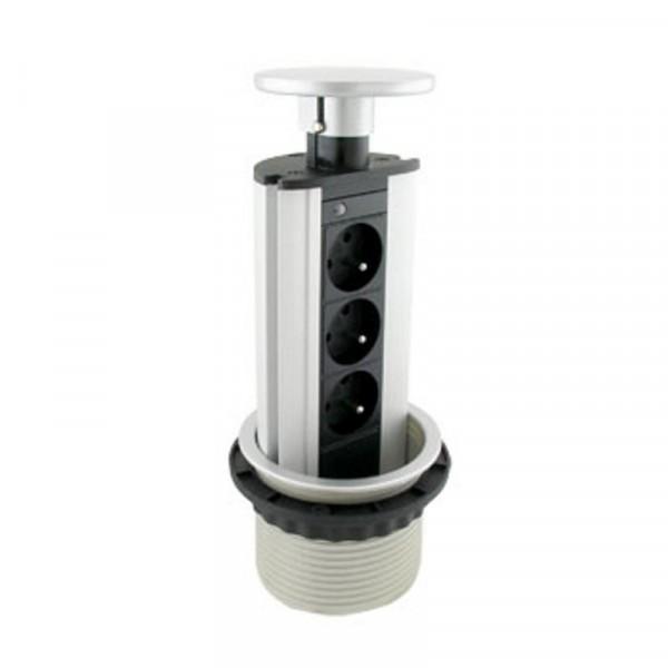 Nájezdové svítidlo ATTILA Square - 230V / GU10
