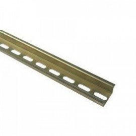 DIN lista nosná pod jističe TS 35/100 cm - děrovaná