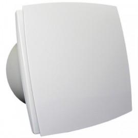 Ventilátor Dalap 125 BF - bílý - vysoký výkon, kuličková ložiska