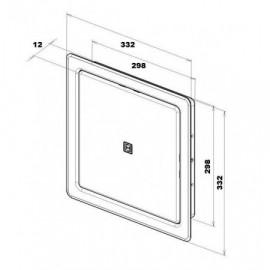 Zásuvková lišta s ochranou proti přetížení a přepětí, 8 x 230V