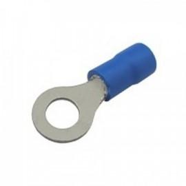 Očko 6.5mm pro vodič 1.5-2.5mm modré