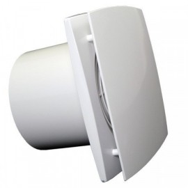Ventilátor Dalap 125 BFZW - vysoký výkon, ložiska, časovač, hygrostat