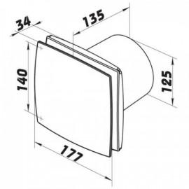Plochá vidlice 230V / 2,5A