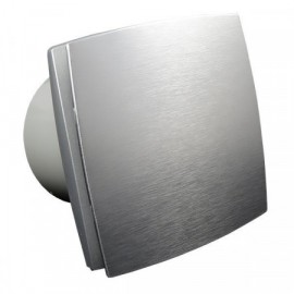 Tichý ventilátor do koupelny Dalap 100 BFA ECO - úsporný, hliník