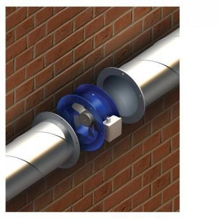 Talířový ventil-anemostat odvodní kov 125 AM125VRF