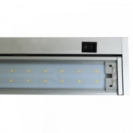 LED osvětlení kuchyňské linky GANYS 58cm, 10W, 880lm, 4100K, IP20, stříbrné