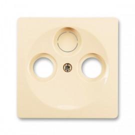 Kryt zásuvky Swing anténní TV+R(+SAT) ABB, 5011G-A00300 C1
