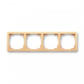 Rámeček Swing , čtyřnásobný ABB, 3901G-A00040 D1