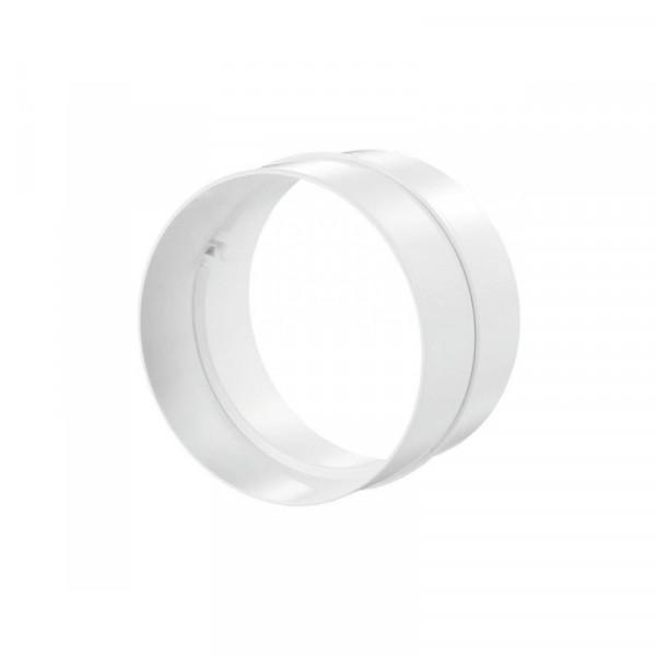 Spojka pro kruhové PVC  potrubí Ø125mm - vnitřní