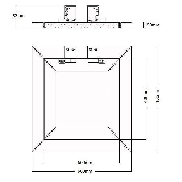 Kryt na jističe 1- 2 moduly Elcon 01-2M