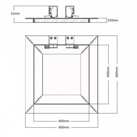 Zásuvka 380V Bals 3142 4x32A/380V IP44 na kabel