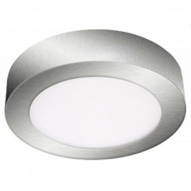 LED panel FENIX-R chrom 23cm, 18W, 1350lm, 3800K, IP20