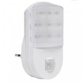 Noční světlo do zásuvky s PIR čidlem pohybu XP200-LED