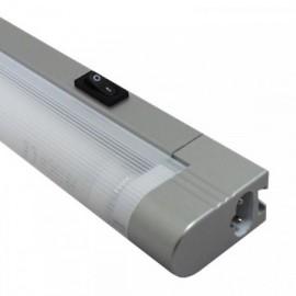 Zářivka pod linku do zásuvky SLICK 57cm, 13W, stříbrná
