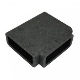 Izolace pro PVC čtyřhrannou T spojku, 220x90mm