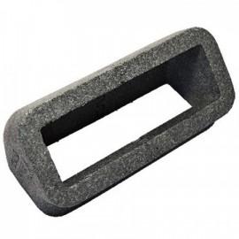 Izolace pro vertikální 45st. čtyřhranné PVC koleno, 204x60mm