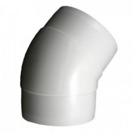 Koleno PVC 45° pro kruhové potrubí Ø 150 mm