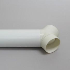 Rozbočka Y 100 mm plastová