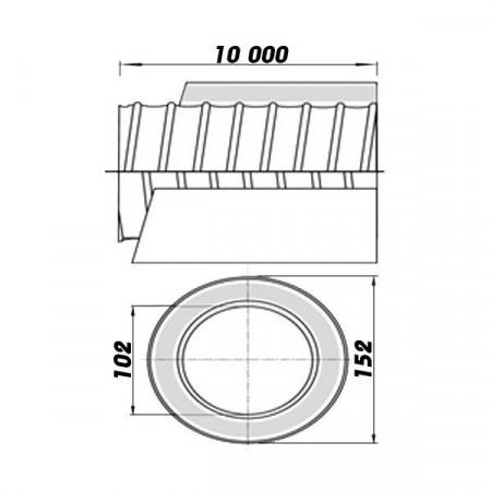 Větrací mřížka se žaluzií 187x187mm/MV120J