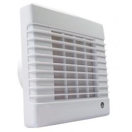Ventilátor Dalap 125 LVZW - vyšší výkon, ložiska, žaluzie, časovač, hygrostat