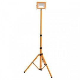 LED reflektor na stativu RMLED-30W přenosný, oranžový