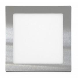 LED svítidlo do podhledu RAFA chrom 17x17cm, 12W, 860lm, 2700K, IP20