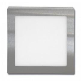LED panel RAFA 2 chrom 17x17cm, 12W, 880lm, 4100K, IP20