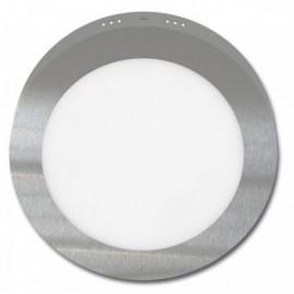 LED panel LADA 2 chrom 23cm, 18W, 1530lm, 2700K, IP20