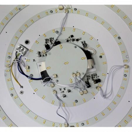 LED žárovka HP 2835 SMD GU10 230V / 8W, teplá bílá