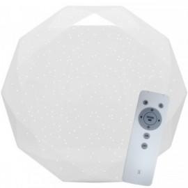 LED osvětlení s dálkovým ovladačem DIAMANT 80cm, 80W, 7300lm, 3000-6000K, IP20, star efekt